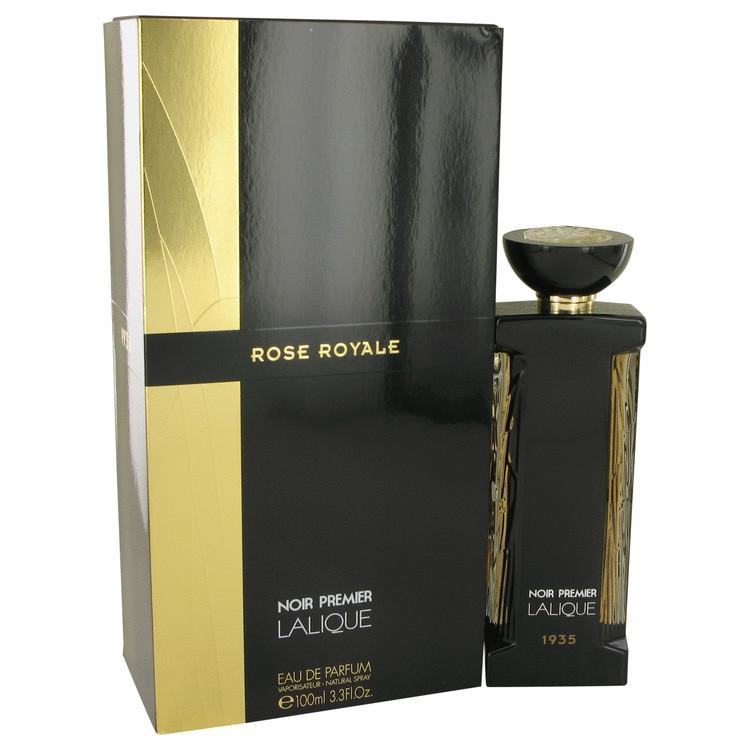 Rose Royale by Lalique Eau De Parfum Spray 3.3 oz (100ml)