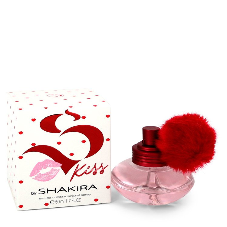 Shakira S Kiss by Shakira Eau De Toilette Spray 1.7 oz (50ml)