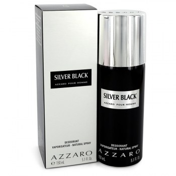 Silver Black by Azzaro for Men