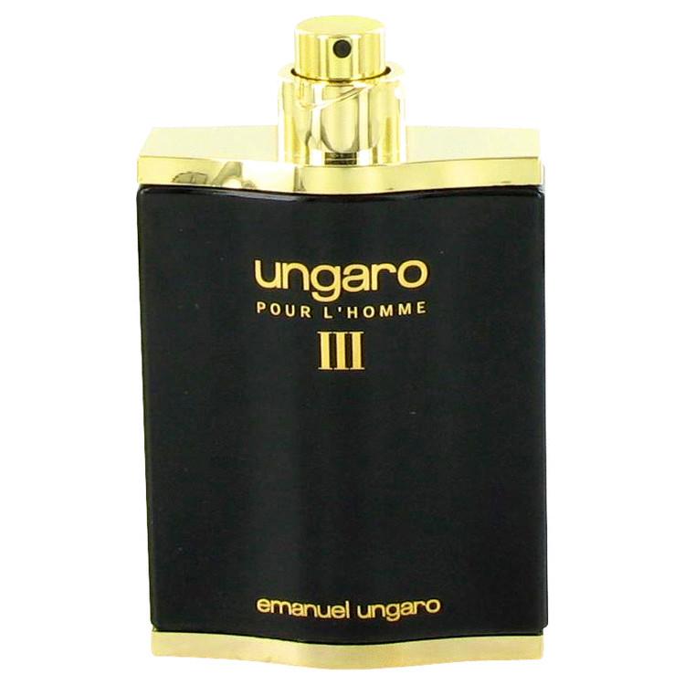 UNGARO III by Ungaro Eau De Toilette Spray (Tester) 3.4 oz (100ml)