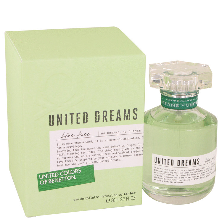 United Dreams Live Free by Benetton perfume for women