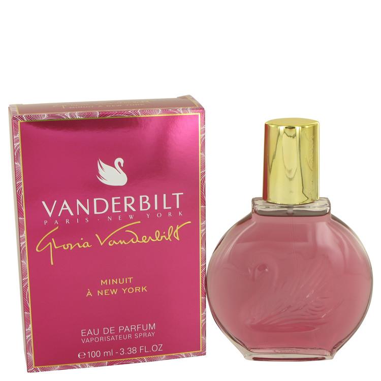 Vanderbilt Minuit a New York by Gloria Vanderbilt Eau De Parfum Spray 3.38 oz
