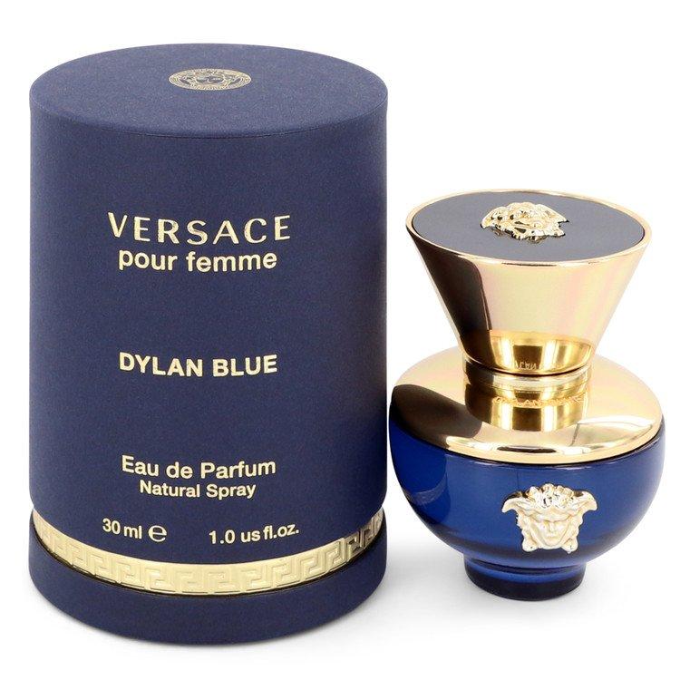 Versace Pour Femme Dylan Blue by Versace Eau De Parfum Spray 1 oz