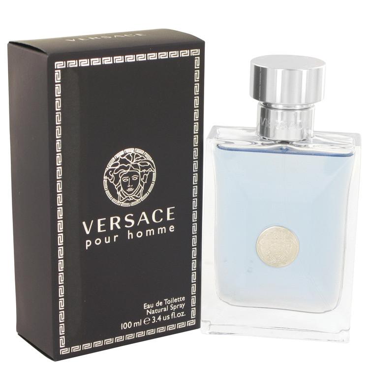 Versace Pour Homme by Versace Eau De Toilette Spray 3.4 oz (100ml)