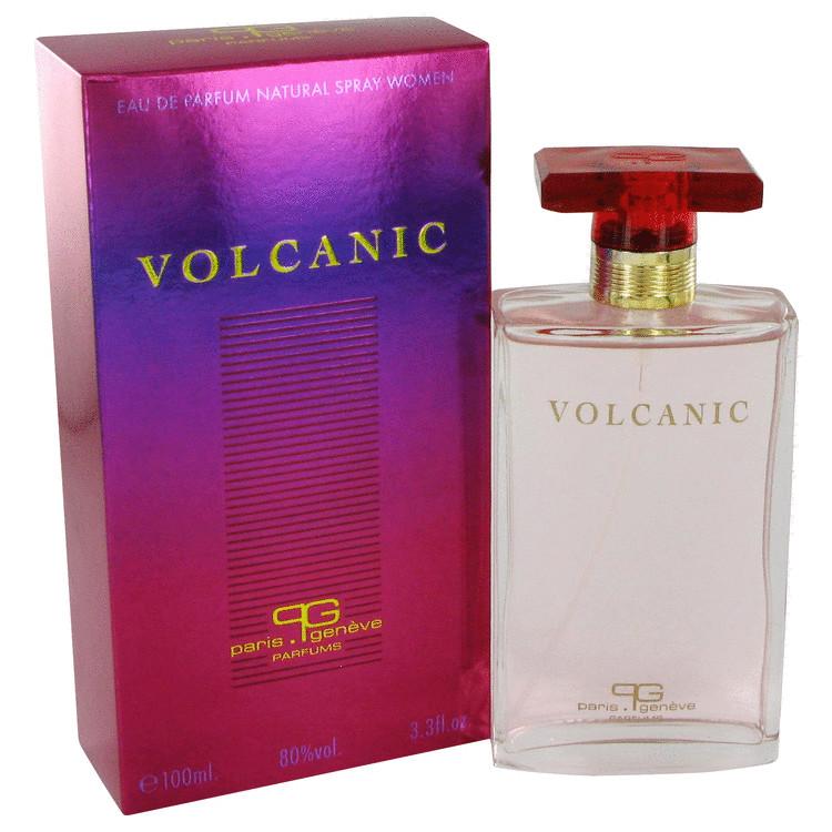 Volcanic perfume for women