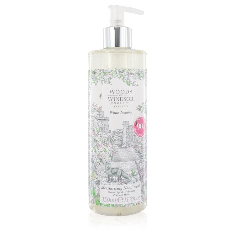 White Jasmine by Woods Of Windsor Hand Wash 11.8 oz