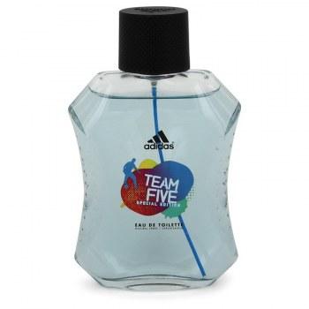 Adidas Team Five Eau De Toilette Spray unboxed 3.4 oz