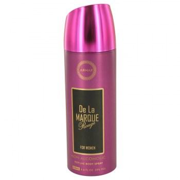 Armaf De La Marque Rouge Body Spray Alcohol Free 6.7 oz
