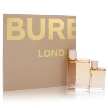 Burberry Her London Dream Gift Set: 3.3 oz Eau De Parfum Spray + 1.0 oz Eau De Parfum Spray