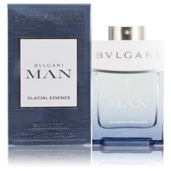 Bvlgari Man Glacial Essence Eau De Parfum Spray 2 oz