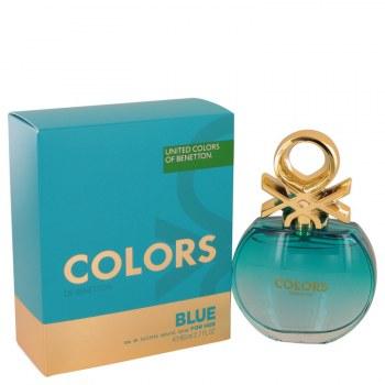 Colors De Benetton Blue Eau De Toilette Spray 2.7 oz