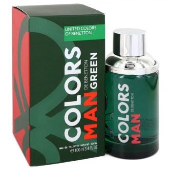 Colors De Benetton Green Eau De Toilette Spray 3.4 oz