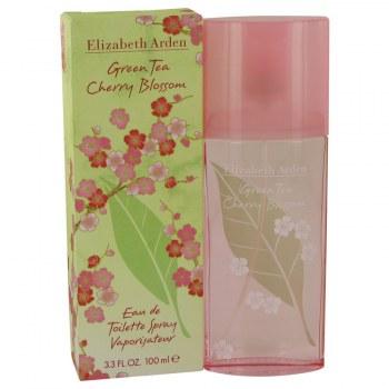 Green Tea Cherry Blossom Eau De Toilette Spray 3.3 oz