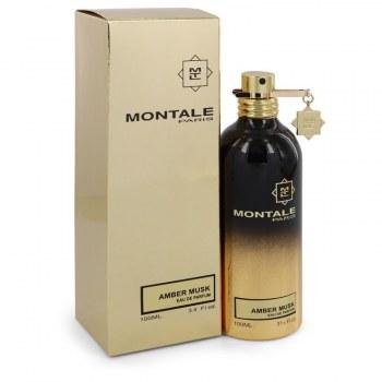 Montale Amber Musk Eau De Parfum Spray unisex 3.4 oz