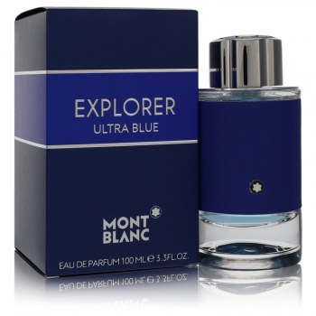 Montblanc Explorer Ultra Blue Eau De Parfum Spray 3.3 oz