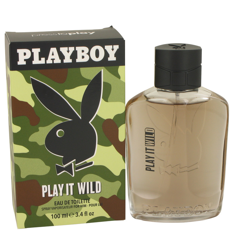 Playboy Play It Wild by Playboy Cologne for him
