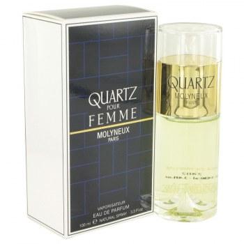 Quartz Eau De Parfum Spray 3.4 oz