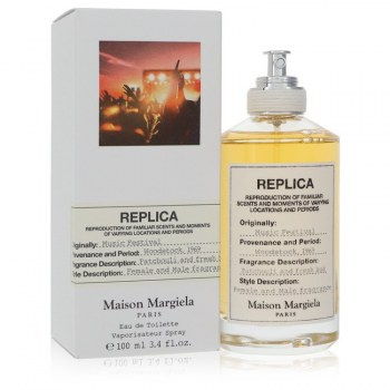 Replica Music Festival Eau De Toilette Spray unisex 3.4 oz