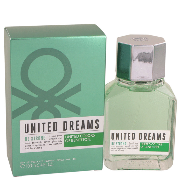 United Dreams Be Strong by Benetton Cologne for him