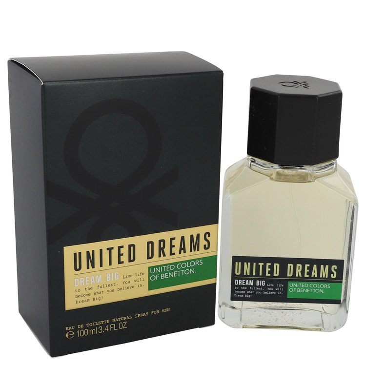 United Dreams Dream Big by Benetton Cologne for him