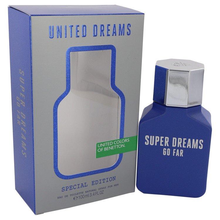 United Dreams Super Dreams Go Far by Benetton Cologne for him
